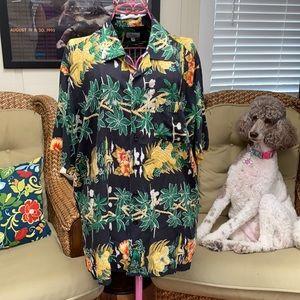 Vintage Mens Hawaiian Shirt Size L